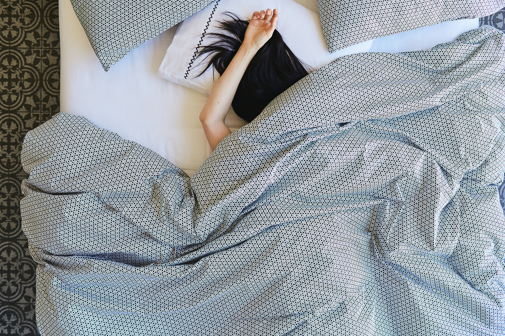 Lifestyle images of bedding by Plover Organic, as photographed by Leah Verwey.